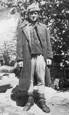 Při návratu z ruského zajetí v dubnu 1948