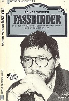 Obálka (1982) monografie RWF v mnichovském nakladatelství Heyne...