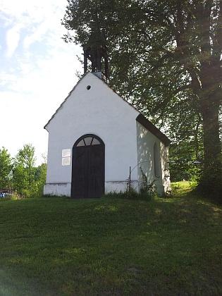 Obnovená kaple v Jistebníku, odkud pocházela Raabova maminka, roz. Gubo
