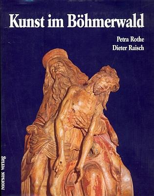 Obálka (1993, Morsak Verlag) knihy s jeho fotografiemi, z nichž tato zachycuje dřevořezbu Nejsvětější Trojice z Českých Budějovic ze 16. století