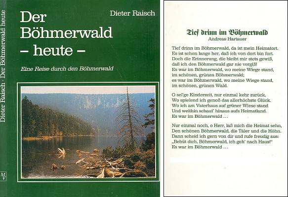 Obálka (1991) jeho knihy z nakladatelství Morsak, která zachytila Šumavu vzápětí po otevření hranic, má na zadní straně text Hartauerovy hymny