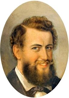 Quastův autoportrét z doby před rokem 1840