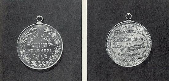 """Vzpomínka na """"Rankovu slavnost"""" v rodné obci roku 1885"""