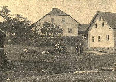 Rodný dům v Chalupách (Friedrichsthal)
