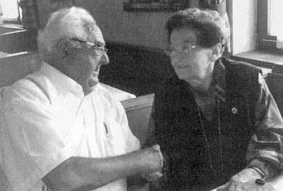 Roku 2008 při krajanském setkání v rozhovoru s Franzem Schlägerem