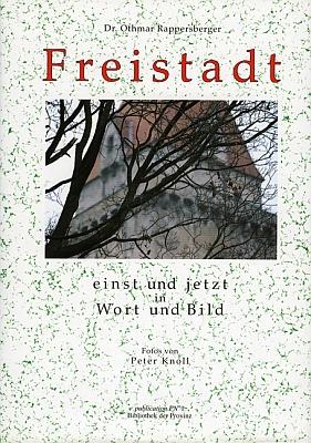 Obálka jeho knihy o rodném městě (1993, Verlag Bibliothek der Provinz)