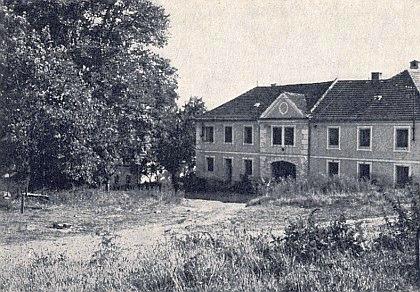 """Dům zvaný """"Wanker-Haus"""" stával v někdejším Oxbrunnu naproti kovárně"""