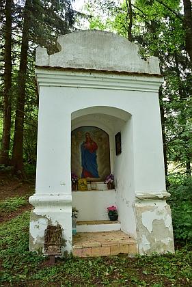 Dvě kapličky u zaniklých Cudrovic