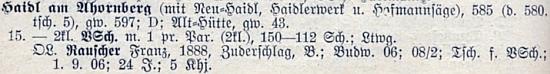 Jeho jméno na seznamu učitelstva německých obecných škol v Československu z roku 1928