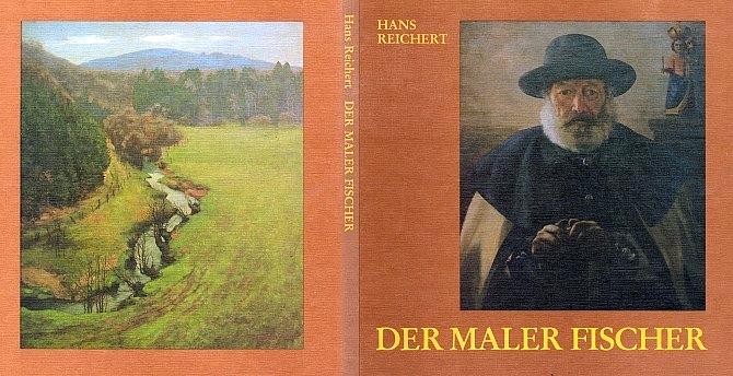Obálka (1984) jeho knihy o malíři Wilhelmu Fischerovi vydané ve Švédsku (Bohusläningens Boktryckeri, Udddevalla)