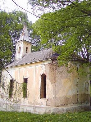 krejčovická kaple sv. Josefa