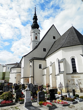 Obernberg am Inn, kde žil a zemřel