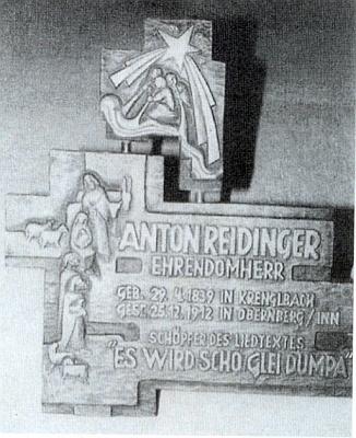 Pamětní deska skladateli a jeho písni