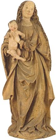 Madona strýčická, od roku 2011 ve sbírkách vyšebrodského kláštera