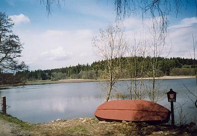 U Pláničského rybníka nedaleko od Jam