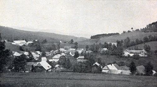 Stará pohlednice z Milešic