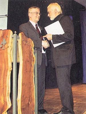 Při převzetí ceny tzv. Kulturního kruhu Freyung-Grafenau v roce 2005