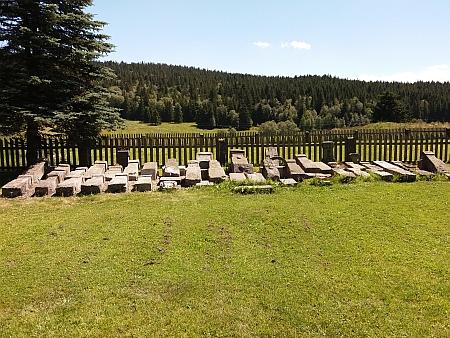 Hřbitov na Kvildě dnes (2018)