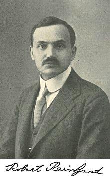 Repro R. Reinhard, Blüten und Blätter (1912),  frontispis