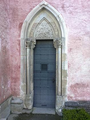 Vstup do kaple