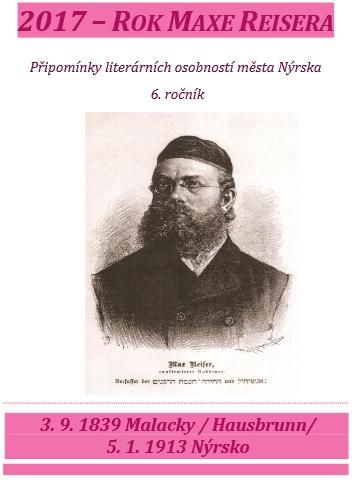 "Na programu nýrského muzea k akci ""2017 - Rok Maxe Reisera"""