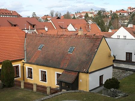 Rodný dům Barbary Klufové v českokrumlovské Linecké ulici čp. 45