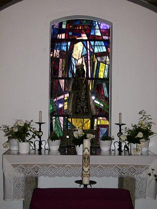 Připomínka konce války v Haidmühle: v roce 1958 byla postavena kaple sv. Marie jako poděkování za záchranu místních obyvatel, kteří se i s farářem ukrývali v domě, vedle nějž dopadl, ale naštěstí nevybuchl těžký granát