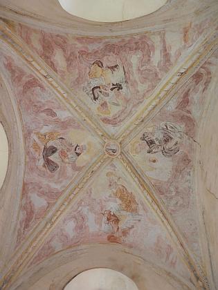 Zámecká kaple sv. Josefa ve Vimperku, o jejímž požáru píše ve svém textu