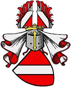 Znak prastarého rodu Reitzensteinů, jehož některé větve linie Hartungs nejsou podle Wikipedie v Bavorsku imatrikulovány