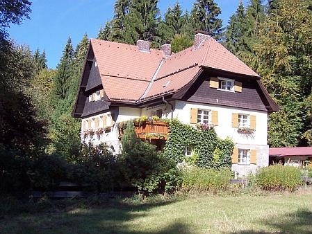 Někdejší celní stanice ve Zwieselerwaldhaus