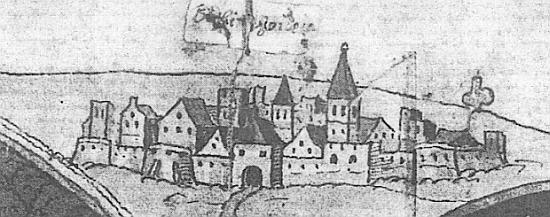 Nejstarší vyobrazení Sušice z roku 1569
