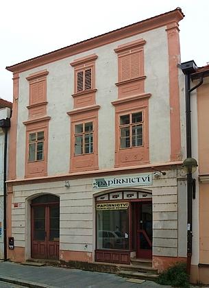 Rodný dům čp. 20 v českobudějovické Hroznové ulici