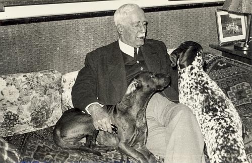 Ve stáří se svými milovanými psy