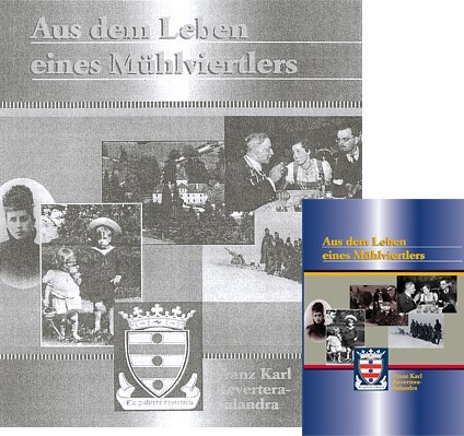 Obálka jeho knihy (2001) vydané v Linci nakladatelstvím Kultur Plus