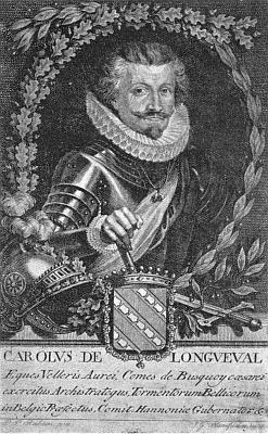 Hrabě Karel Bonaventura Buquoy (1571-1621), jeden z aktérů událostí, popisovaných v Richterově textu