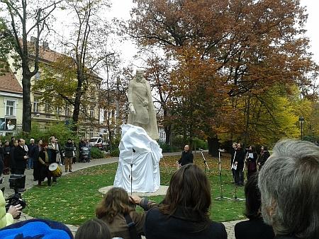 Slavnostní odhalení pomníku 28. října 2015