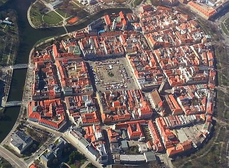 Historické centrum Českých Budějovic