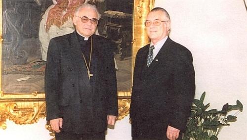 S kardinálem Miloslavem Vlkem