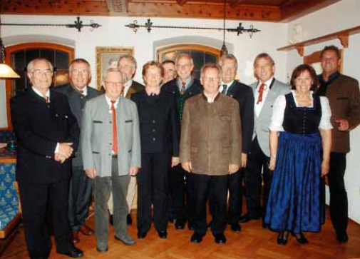 V září 2010 oslavila sekce sdružení Bayerischer Waldverein v Neukirchen beim Heiligen Blut 125 let své existence: Haymo Richter stojí první zleva, třetí zleva je zachycen slavnostní řečník Ludwig Baumann