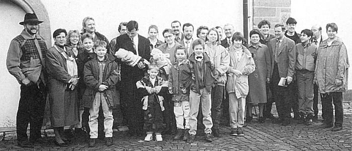 Velká rodina Richterova s 11 vnuky