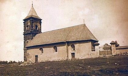 Kostel v zaniklé Pleši...