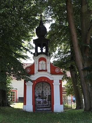 Návesní kaple ve Svébozích (2020)