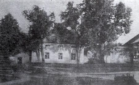 Rodný dům čp. 20 (Schneiderhansl) v Šitboři kdysi...