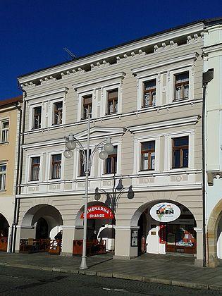 Dům čp. 16 na českobudějovickém náměstí