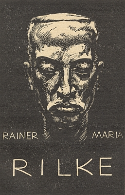 Na portrétu Karla Stratila k básníkovu úmrtí