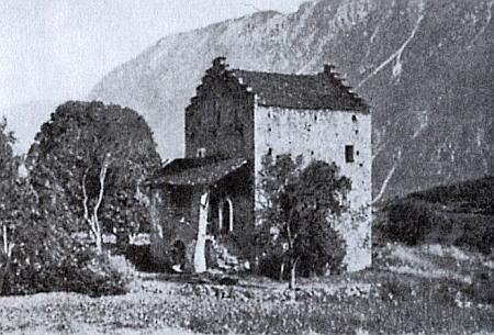 Zámek Muzot ve Švýcarsku, kde Rilke pobýval v posledních letech života