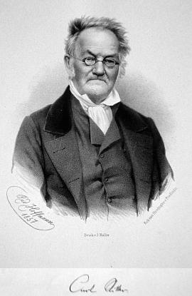 Na litografii podle snímku Rudolfa Hoffmanna zroku 1857