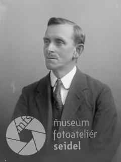 Heinrich Rodinger na snímku z 22. června 1927