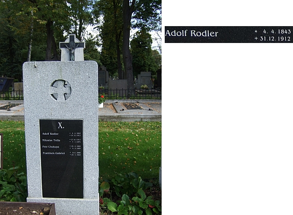 Českobudějovický kněžský hrob č. X u sv. Otýlie