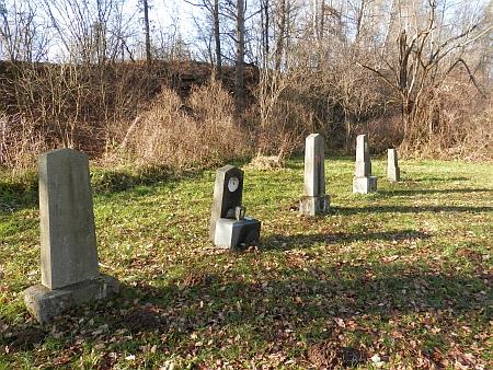 Cetvinský hřbitov v roce 2021